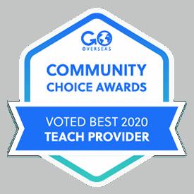 Award for best teach provider 2020